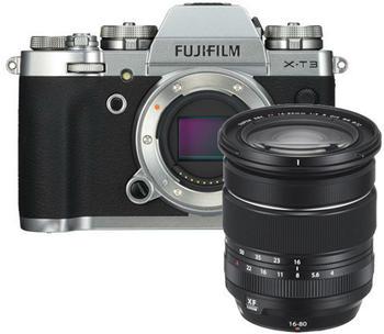 Fujifilm X-T3 Kit 16-80 mm silber