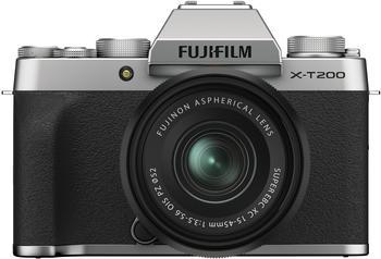 Fujifilm X-T200 Kit 15-45 mm silber