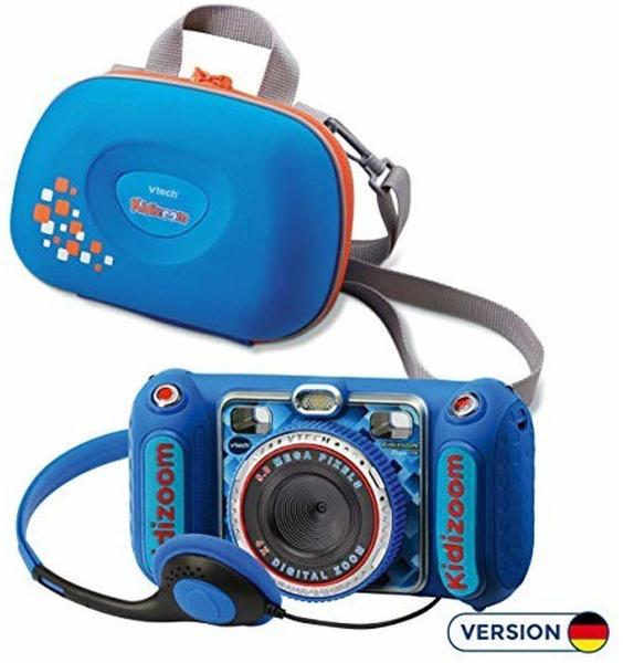 Vtech Kidizoom Duo DX + Tasche blau
