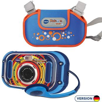 Vtech Kidizoom Touch 5.0 + Tasche blau