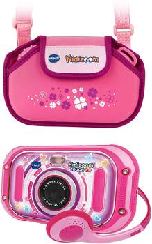 Vtech Kidizoom Touch 5.0 + Tasche pink