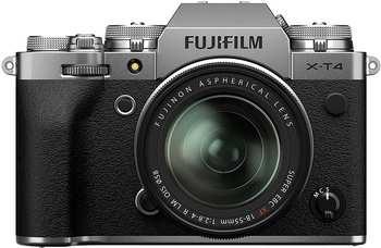 Fujifilm X-T4 Kit 18-55 mm silber