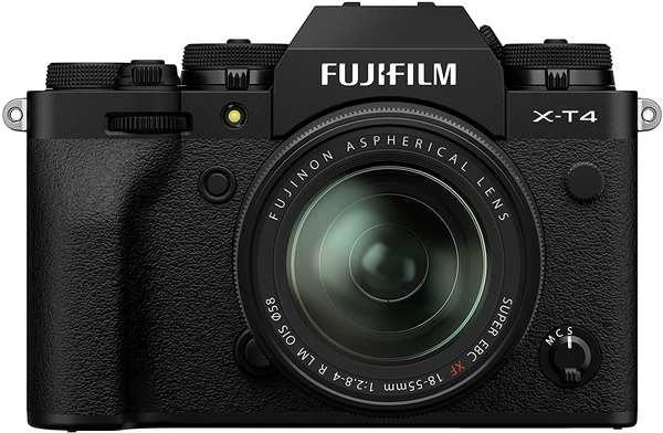 Fujifilm X-T4 schwarz + XF 18-55mm R LM OIS