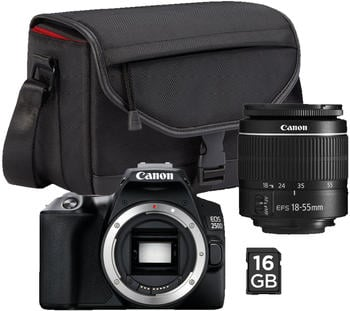 Canon EOS 250D Kit18-55 mm III + CS-SB130 + 16GB SD