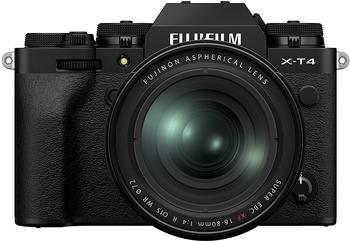 Fujifilm X-T4 schwarz + XF 16-80mm R OIS WR