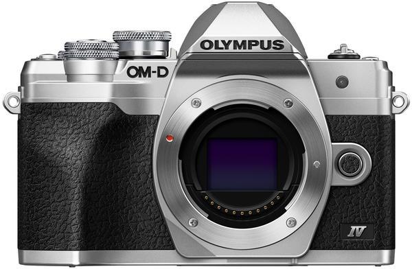 Olympus OM-D E-M10 Mark IV Body silber