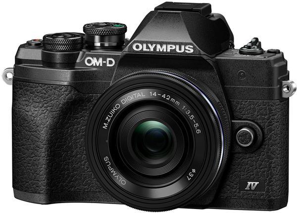Olympus OM-D E-M10 Mark IV Kit 14-42 mm EZ schwarz