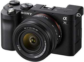 Sony Alpha 7C schwarz + FE 28-60mm