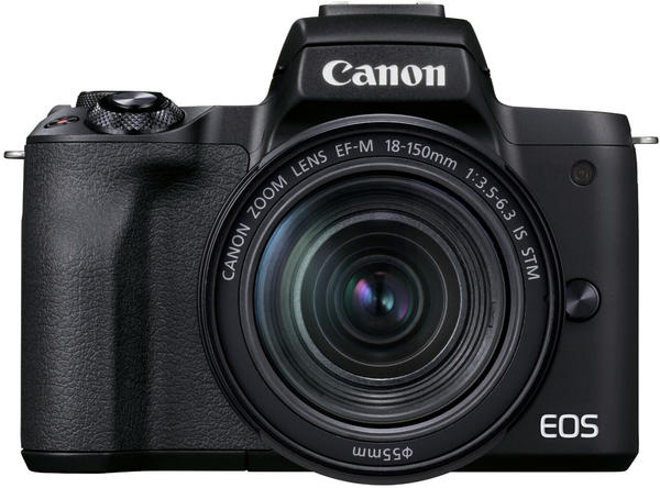 Canon EOS M50 Mark II Kit 18-150 mm schwarz
