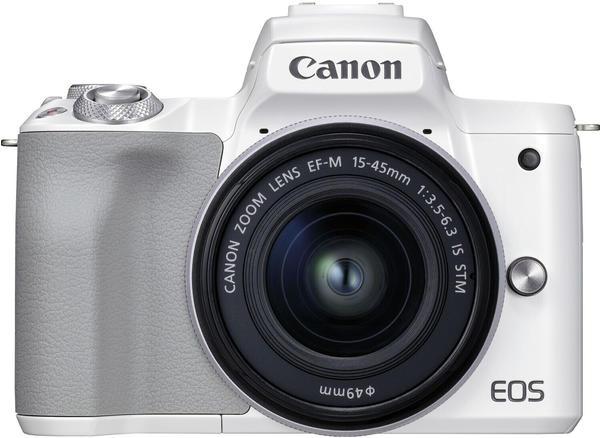 Canon EOS M50 Mark II Kit 15-45 mm weiß