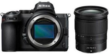 Nikon Z 5 2470 1:4 Systemkamera (NIKKOR Z 2470 mm 1:4 S, 24,3 MP, WLAN (WiFi), Bluetooth)