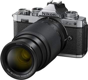 Nikon Zfc + DX 16-50 mm 1:3.5-6.3 VR SE und DX 50-250 mm 1:4.5-6.3 VR (20.9 MP, OLED-Sucher mit Z