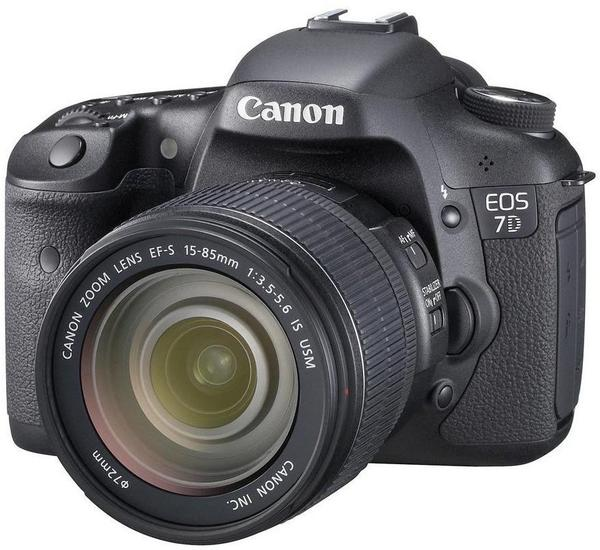 Canon EOS 7D inkl. EF-S 15-85mm IS USM LENS-KIT