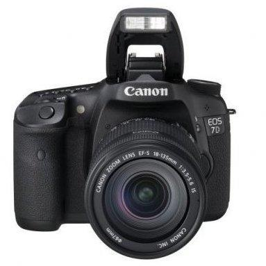 Canon EOS 7D inkl. EF-S 18-135mm IS LENS-KIT
