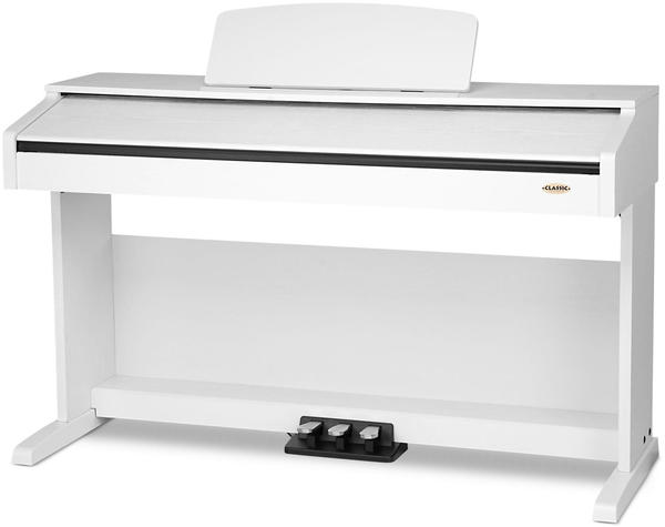 Classic Cantabile DP-210 WH Weiß matt