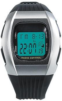 "Callstel Digitale Unisex-Sport-Funkuhr mit LCD-Display ""SW-640 dcf"""