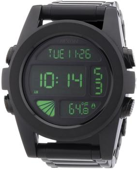 Nixon The Unit SS All Black/Green (A3601032)