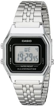 Casio LA680WA-1D white/black