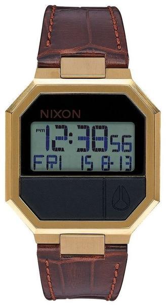 Nixon Re-Run Leather Brown Croc (A944-849)