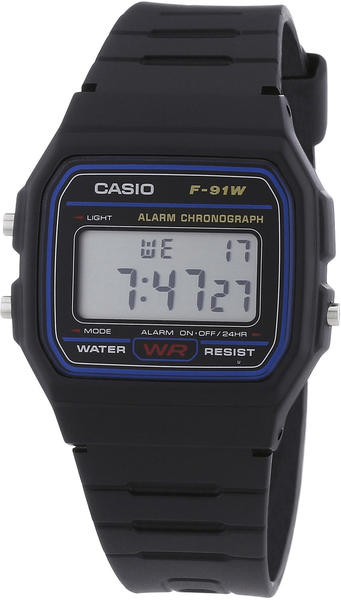 Casio Collection (F-91W-1YER)