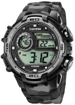 Calypso Herrenuhr Schwarz/Grau