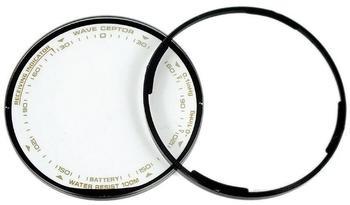 Casio Ersatzglas Uhrglas Mineralglas rund mit Dichtung für Pro Trek PRW-1300T PRW-1300Y