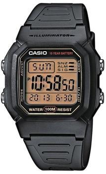 Casio Collection Herrenuhr Multialarm Digitaluhr schwarz W-800HG-9AVES