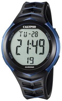 Calypso Uhr Digitaluhr K5730/2 schwarz blau