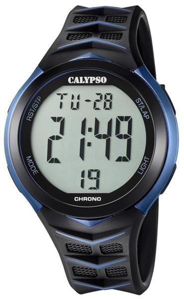 Calypso Herren Digital Quarz Uhr mit Plastik Armband K5730/2