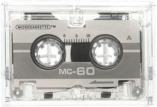 Genie MC-60 Diktiergeräte Kassetten
