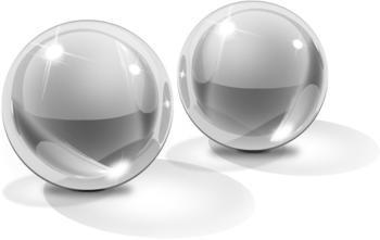 Pipedream Icicles Glass Ben-Wa Balls No. 42 Medium