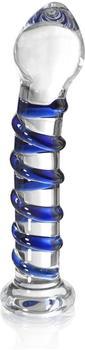 Lumunu Magic Blue Deluxe Glas Dildo