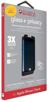 ZAGG InvisibleShield Glass+ Privacy (iPhone 8)