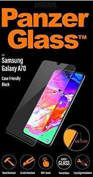 PanzerGlass Displayschutz, Schutzfolie schwarz/transparent, Samsung Galaxy A70