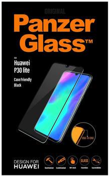 PanzerGlass Displayschutz, Schutzfolie transparent/schwarz, Huawei P30 Lite