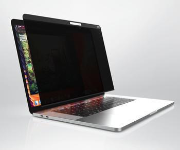 "PanzerGlass Dual Privacy Displayschutz, Schutzfolie schwarz, MacBook Pro 15,4"""