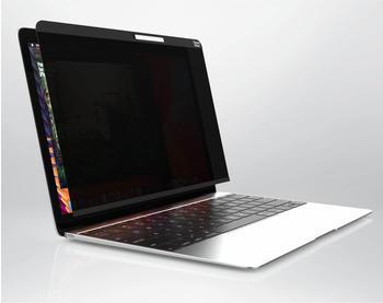 "PanzerGlass Dual Privacy Displayschutz, Schutzfolie schwarz, MacBook 12"""