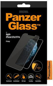 PanzerGlass Privacy für iPhone 11 Pro mit Blaulicht+Blickschutzfilter