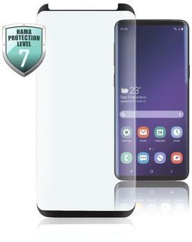 Hama Full-Screen-Schutzglas für Samsung Galaxy S20, Schwarz Schutzglas