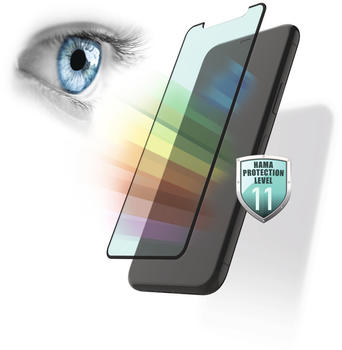 Hama Anti-Bluelight+Antibakt. Displayschutzglas (für Samsung Galaxy S20+ (5G))