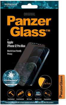 PanzerGlass Black & Case Friendly Privacy iPhone 12 Pro Max (P2712)
