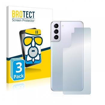 BROTECT AirGlass Matte Panzerglasfolie für Samsung Galaxy S21 Plus 5G (Rückseite) 3x