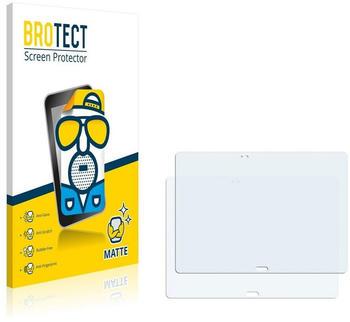 BROTECT 2X Entspiegelungs-Schutzfolie Samsung Galaxy Tab S 10.5 SM-T801 Displayschutz-Folie Matt