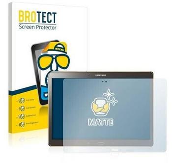 BROTECT 2X Entspiegelungs-Schutzfolie Samsung Galaxy Tab S 10.5 SM-T800 Displayschutz-Folie Matt