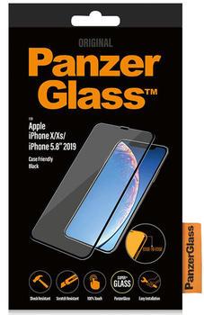PanzerGlass iPhone 11 Pro/XS Edge to Edge CaseFriendly   Black   3D-Touch