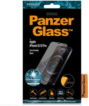 PanzerGlass Case Friendly Black iPhone 12/12 Pro