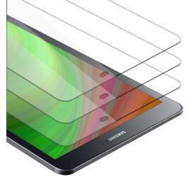 """Cadorabo 3x Tablet Panzer Folie Tempered für Samsung Galaxy Tab S2 (9.7"""" Zoll) SM-T815NT813NT819N, Schutzfolie in 9H Härte"""