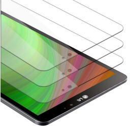 Cadorabo 3x Tablet Panzer Folie Tempered für LG G Pad 8.3, Schutzfolie in 9H Härte