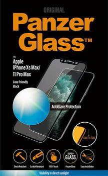PanzerGlass Edge-to-Edge für Apple iPhone Xs Max11 Pro Max Schwarz mit Blendschutz