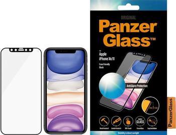 PanzerGlass Edge-to-Edge für Apple iPhone Xr11 Schwarz mit Blendschutz
